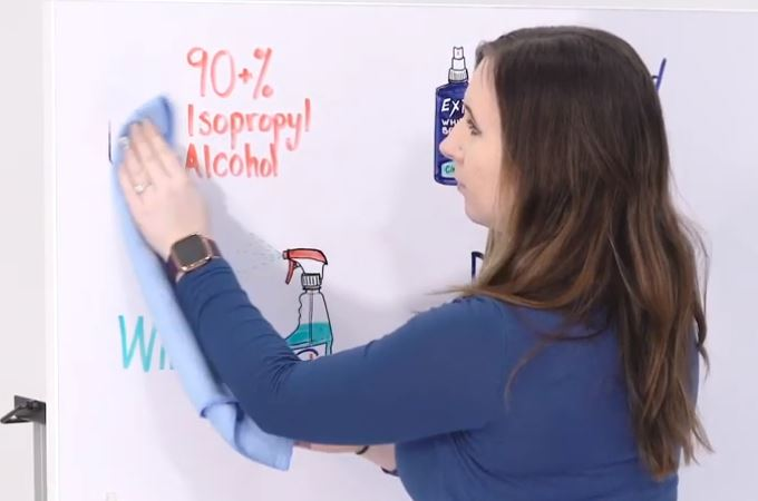 How to get dry erase marker out of fabric