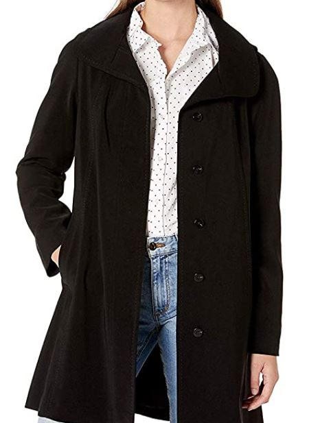 different types of jackets: A soft A-line